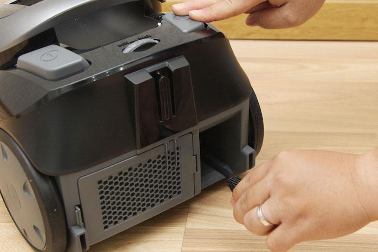 Thu dây điện dễ dàng chỉ bằng một thao tác