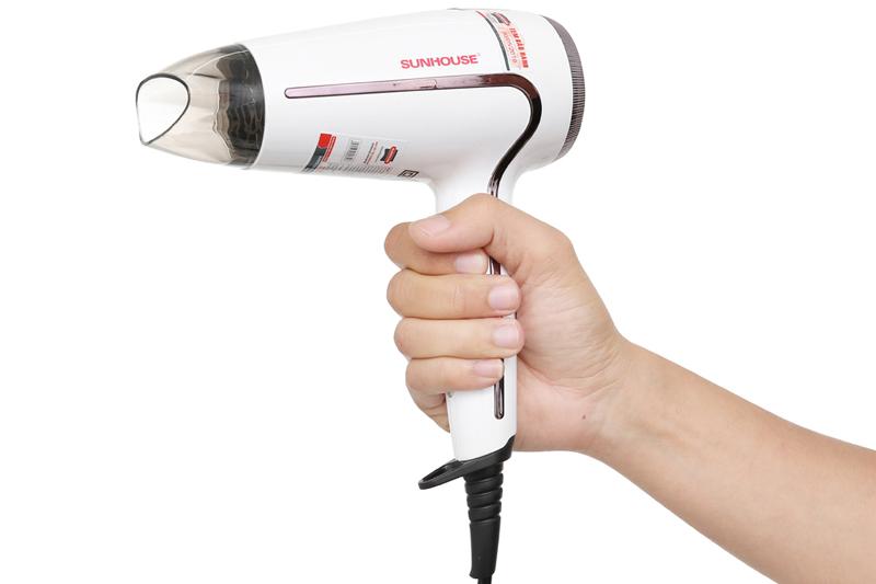 Tự ngắt khi quá nhiệt - Máy sấy tóc Sunhouse SHD2308W