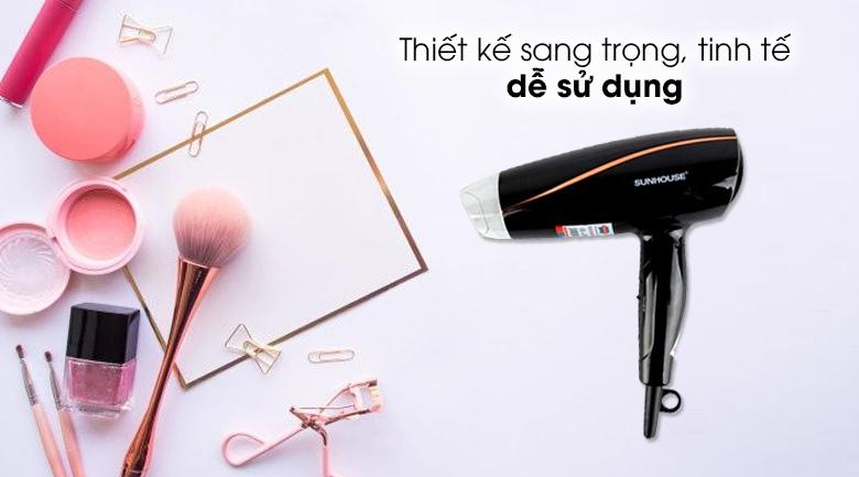 Máy sấy tóc Sunhouse SHD2306 - Thiết kế tối giản, gọn gàng