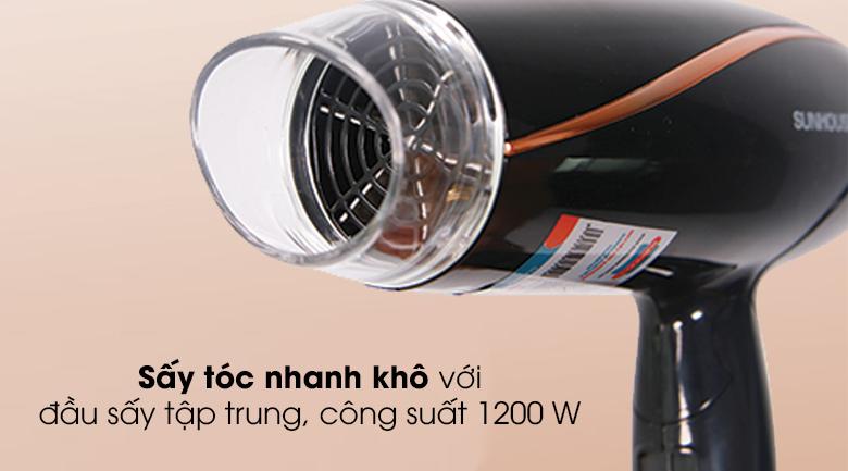 Máy sấy tóc Sunhouse SHD2306 - Công suất mạnh mẽ 1200 W