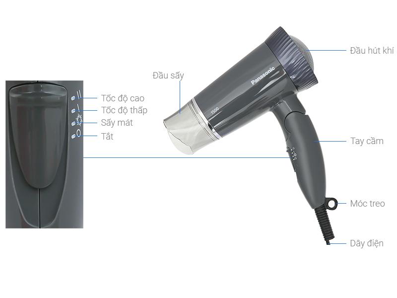 Thông số kỹ thuật Máy sấy tóc Panasonic EH-ND57-H645