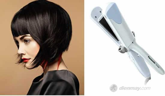 Máy sấy tóc tạo dáng Panasonic EH-HS60 có thanh nhiệt mạ ceramic và chức năng tạo hơi nước