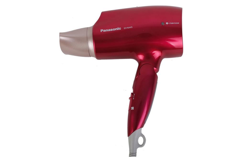 Thiết kế nhỏ gọn, vỏ màu đỏ sang trọng - Máy sấy tóc Panasonic EH-NA45RP645