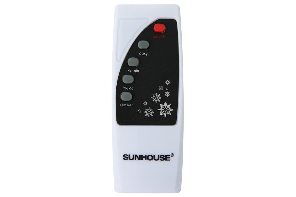 Điều khiển từ xa nhỏ gọn - Quạt điều hòa Sunhouse SHD7746