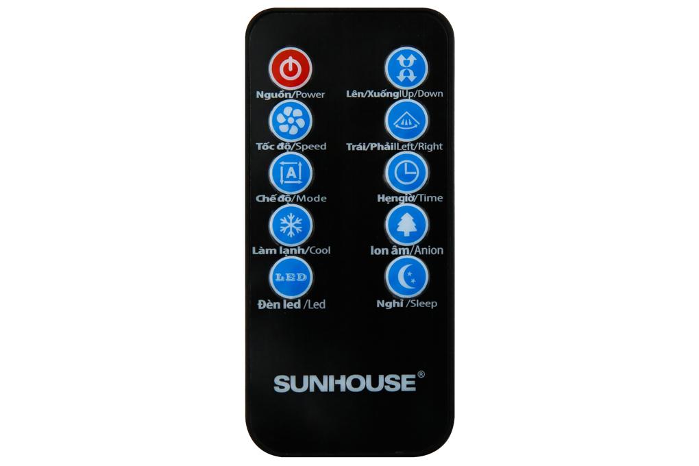 Có điều khiển từ xa tiện dụng - Quạt điều hòa Sunhouse SHD7724