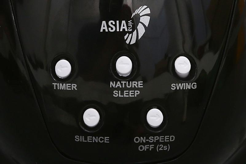 Quạt treo Asia L16020 đen-4