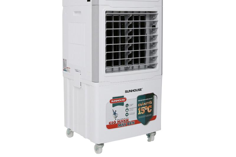 Bánh xe linh hoạt - Máy làm mát không khí Sunhouse SHD7756 KG