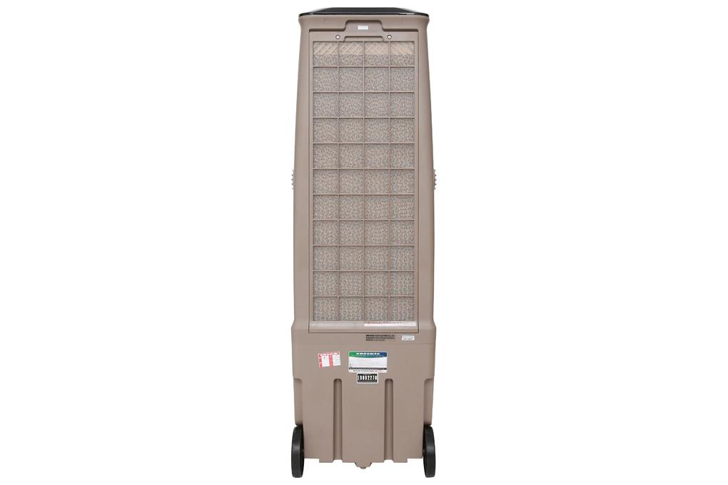 Trang bị 1 tấm lưới lọc thô bên ngoài và 1 tấm làm mát màu xám bên trong - Quạt điều hòa không khí Boss S-101