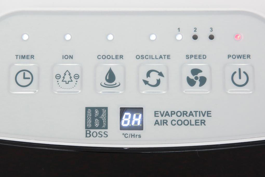 Điều khiển nút nhấn điện tử dễ điều chỉnh - Quạt điều hòa không khí Boss S-101