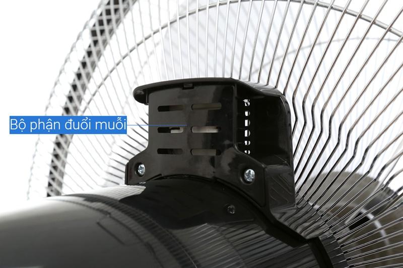 Chức năng đuổi muỗi tiện dụng - Quạt đứng điều khiển Asia D16024