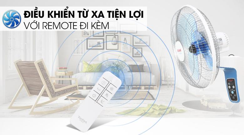 Quạt treo Tefal VF3670-71 - Điều khiển từ xa tiện lợi với remote