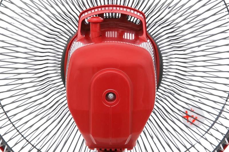 Động cơ bạc thau - Quạt bàn Mitsubishi D12-GV CY-RD đỏ đậm