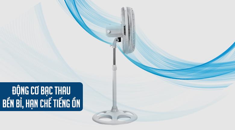 Quạt đứng Asia DTB1601-XV0 - Động cơ bạc thau có độ bền cao