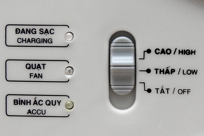 Quạt sạc điện Asia QS-1001
