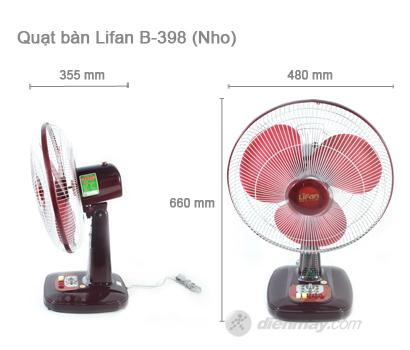 bàn Lifan B-398 - Cập nhật thông tin, hình ảnh, đánh giá