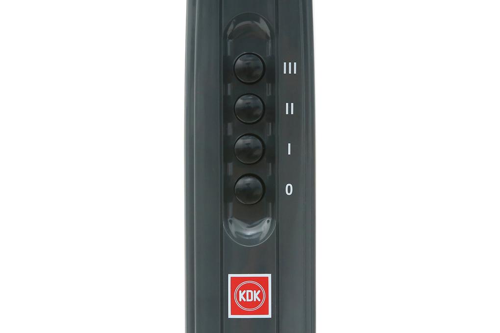 Tùy chỉnh tiện lợi với điều khiển nút nhấn - Quạt đứng KDK P41U
