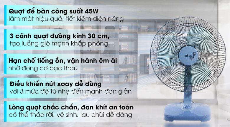Quạt bàn Asia B16001