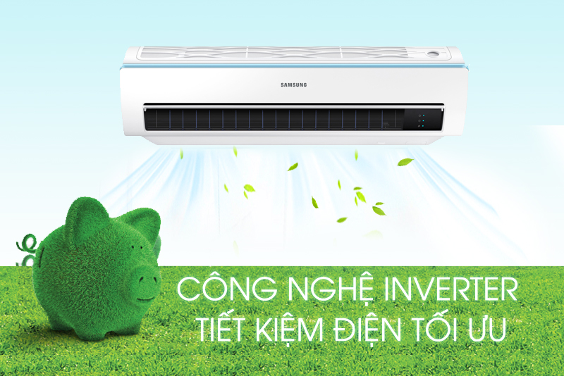 Máy lạnh Samsung Inverter 1 HP AR10MVFSCURNSV
