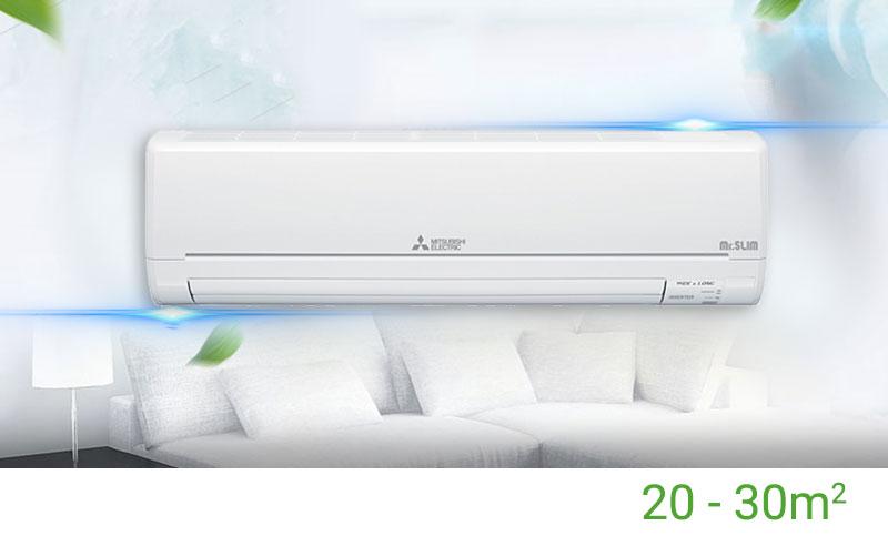 Máy lạnh Mitsubishi Electric Inverter 2HP MSY-GM18VA thích hợp phòng 20-30m2