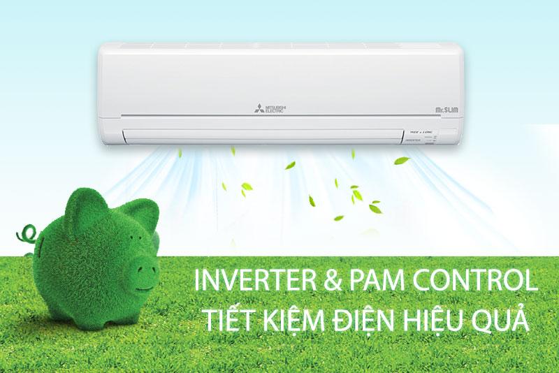 Máy lạnh Mitsubishi Electric Inverter 2HP MSY-GM18VA pam control tiết kiệm điện