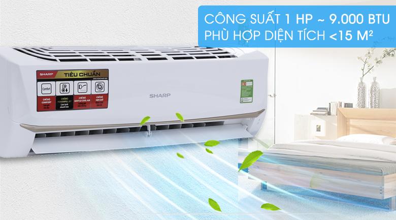 Máy lạnh Sharp 1 HP AH-A9UEW