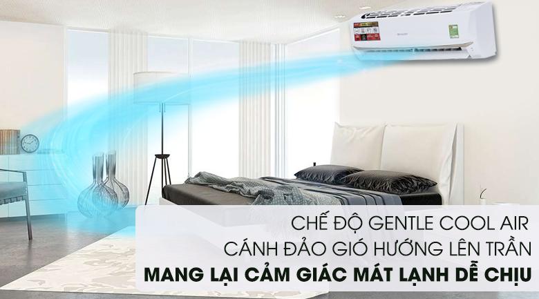 Chế độ Gentle Cool Air - Máy lạnh Sharp 1 HP AH-A9UEW