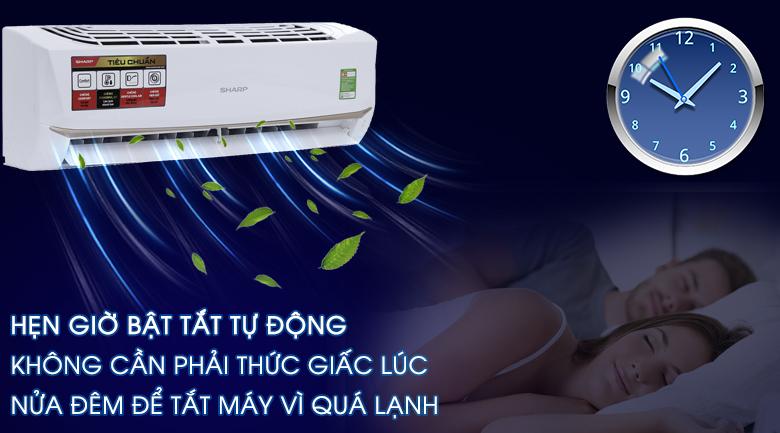 Chức năng hẹn giờ bật tắt tự động - Máy lạnh Sharp 1 HP AH-A9UEW