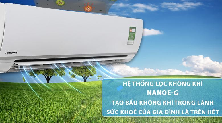 Công nghệ Nanoe-G - Máy lạnh Panasonic 2.5 HP CU/CS-N24TKH-8