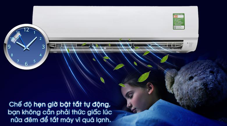 Tính năng hẹn giờ bật/tắt - Máy lạnh Panasonic 2.5 HP CU/CS-N24TKH-8