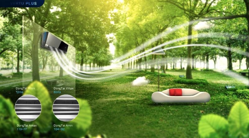 Chức năng Forest Air - làn gió tự nhiên