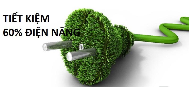 Chế độ Eco tiết kiệm 60% điện năng hàng tháng cho gia đình