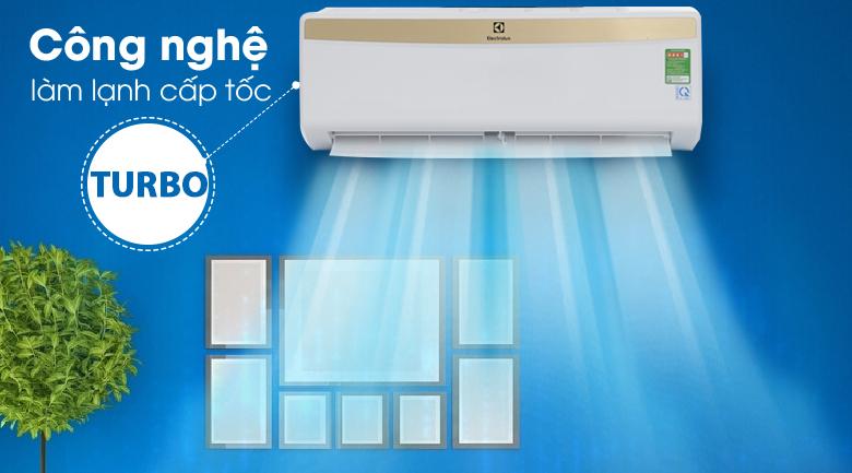 Làm lạnh nhanh - Máy lạnh Electrolux 1HP ESM09CRM-A1