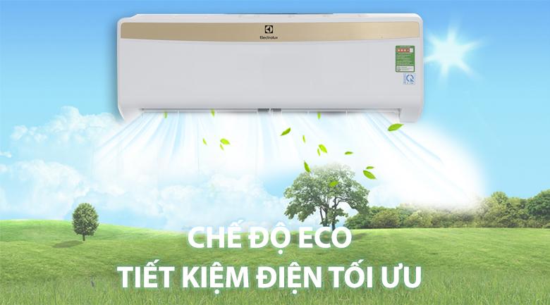 Chế độ Eco hiện đại - Máy lạnh Electrolux 1HP ESM09CRM-A1