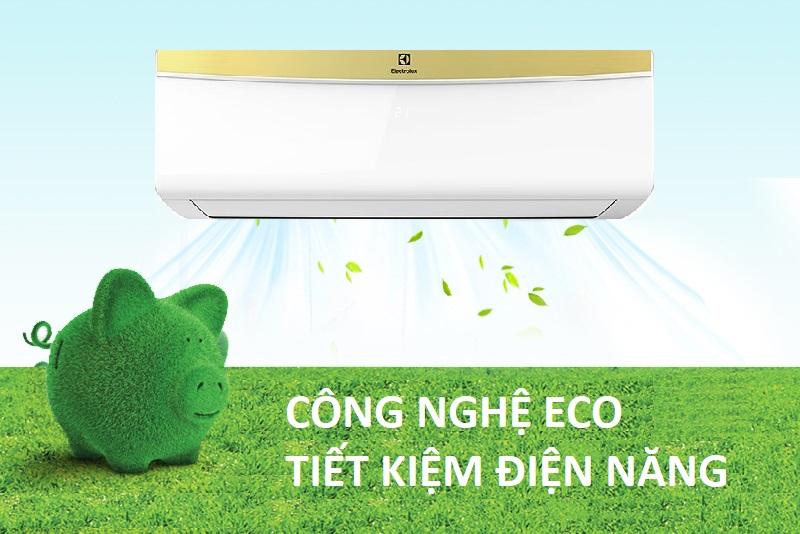 Tiết kiệm năng lượng hơn nhờ chế độ Eco hiện đại