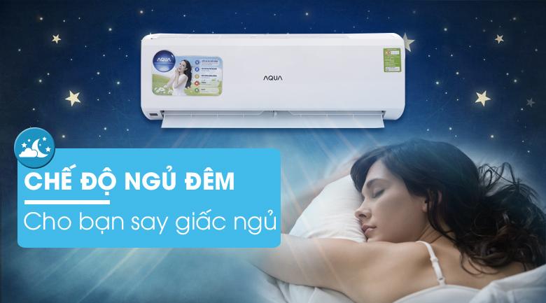 Ngủ đêm - Máy lạnh AQUA 1 HP AQA-KCR9JA