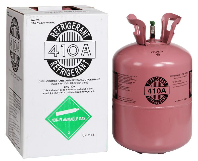 Sử dụng Gas R410A