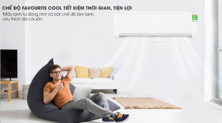 Favourite Cool - Máy lạnh Midea Inverter 1 HP MSMAIII-10CRDN1