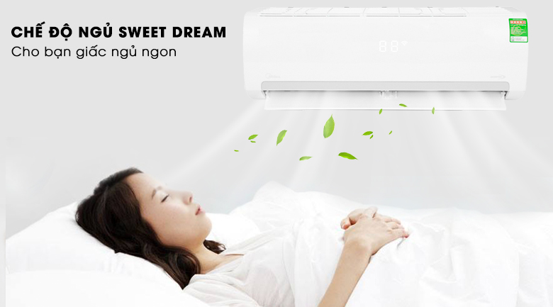 Sweet Dream - Máy lạnh Midea Inverter 1 HP MSMAIII-10CRDN1