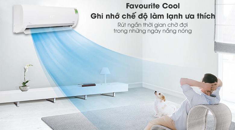 Favourite Cool - Máy lạnh Midea Inverter 1.5 HP MSMAIII-13CRDN1
