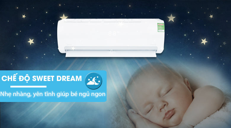Sweet Dream - Máy lạnh Midea Inverter 1.5 HP MSMAIII-13CRDN1