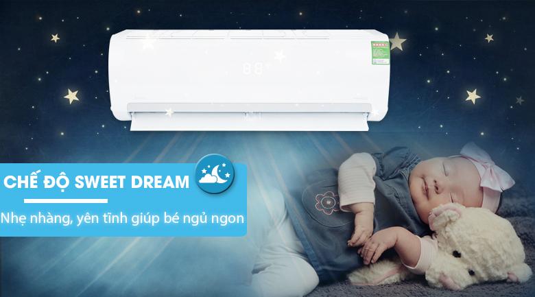 Chế độ ngủ ban đêm - Máy lạnh Midea Inverter 2 HP MSMAIII-18CRDN1