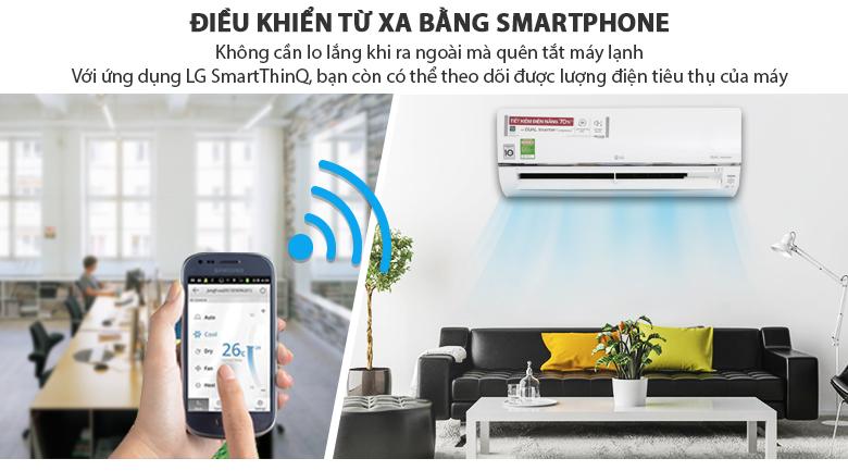 Điều khiển từ xa - Máy lạnh LG Wifi Inverter 1 HP V10API