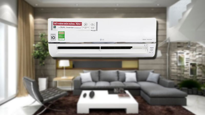 Điều hòa LG Wifi Inverter 9200 BTU V10API