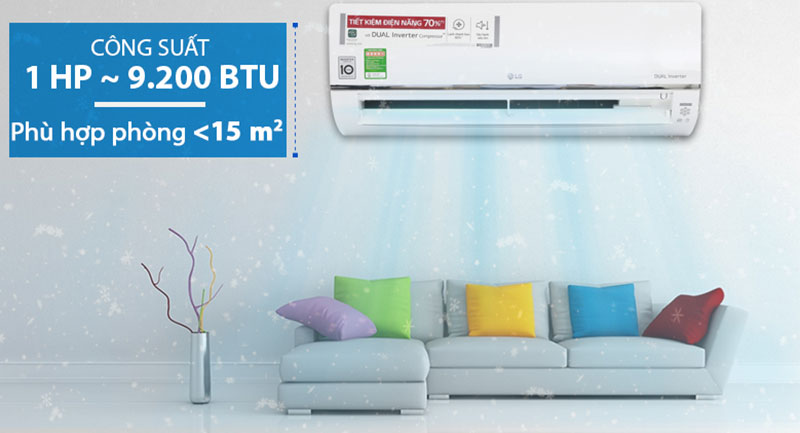 Máy lạnh LG Wifi Inverter 1.5 HP V13APF