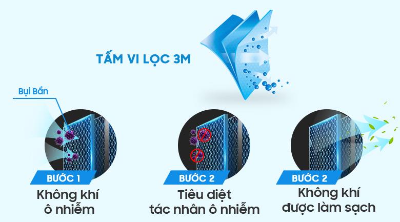 Tấm vi lọc bụi 3M - Máy lạnh LG Wifi Inverter 1.5 HP V13API
