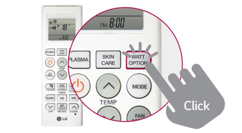 Giúp bạn không còn quá lo lắng về vấn đề điện năng hằng tháng nhờ công nghệ Inverter và nút WATT Option