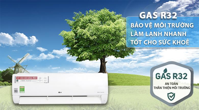 Gas R32 - Máy lạnh LG Inverter 1 HP V10APH