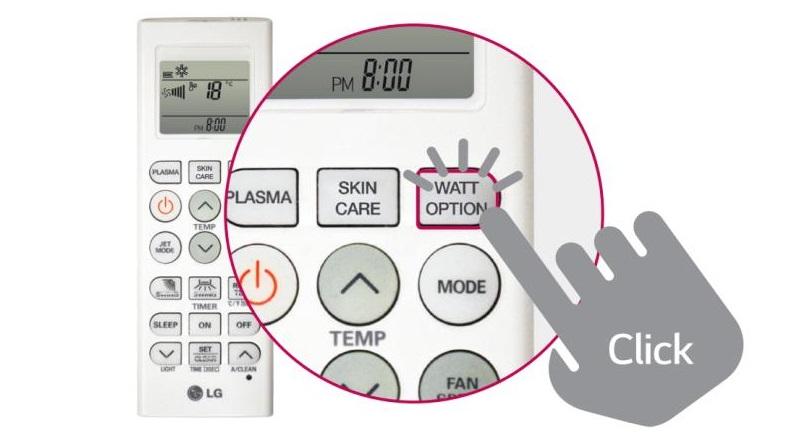 Máy lạnh siêu tiế kiệm điện năng nhờ tính năng tùy chỉnh mức điện tiêu thụ