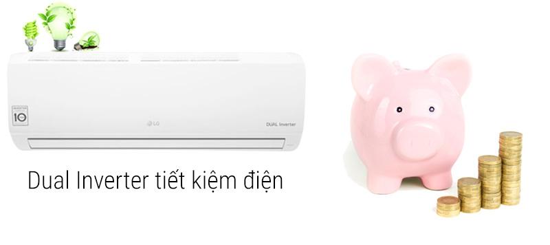 Máy lạnh Inverter tiết kiệm điện, vận hành êm