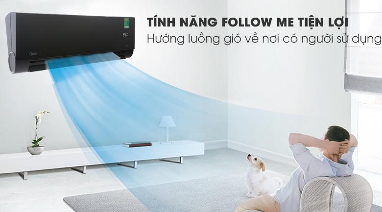 Tính năng Follow Me - Máy lạnh Midea Inverter Wifi 1.5 HP MSVP-13CRDN1